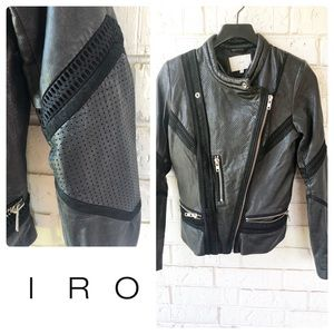 IRO Inaya leather jacket